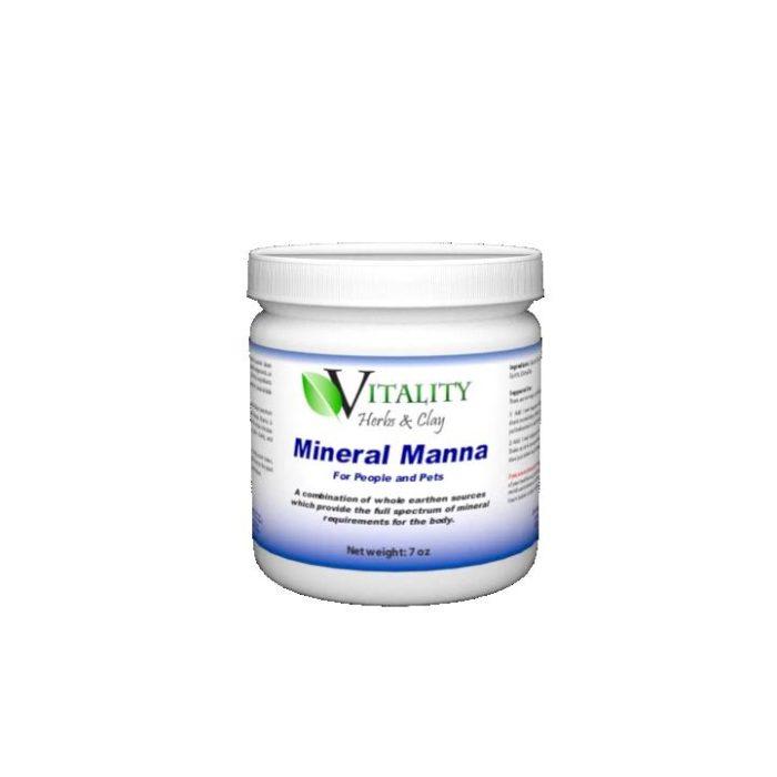 Vitality Herbs & Clay - Mineral Manna, 7oz (198g)
