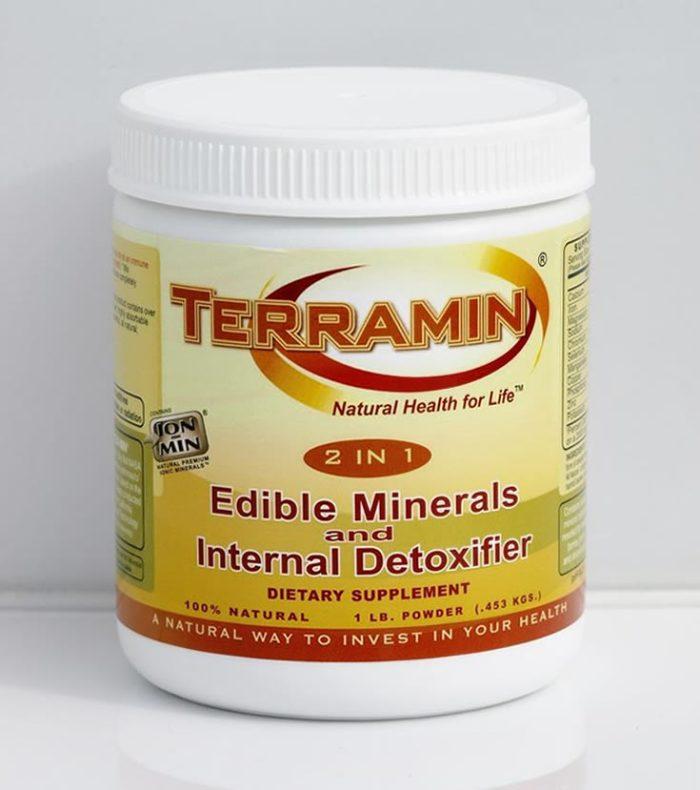 Terramin 2 in 1 Edible Minerals & Internal Detoxifier, 1lb (453g)